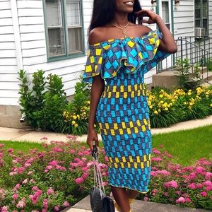 Dresses & Skirts - Summer African Print... 1 size for all.👗🛍🎊🎀